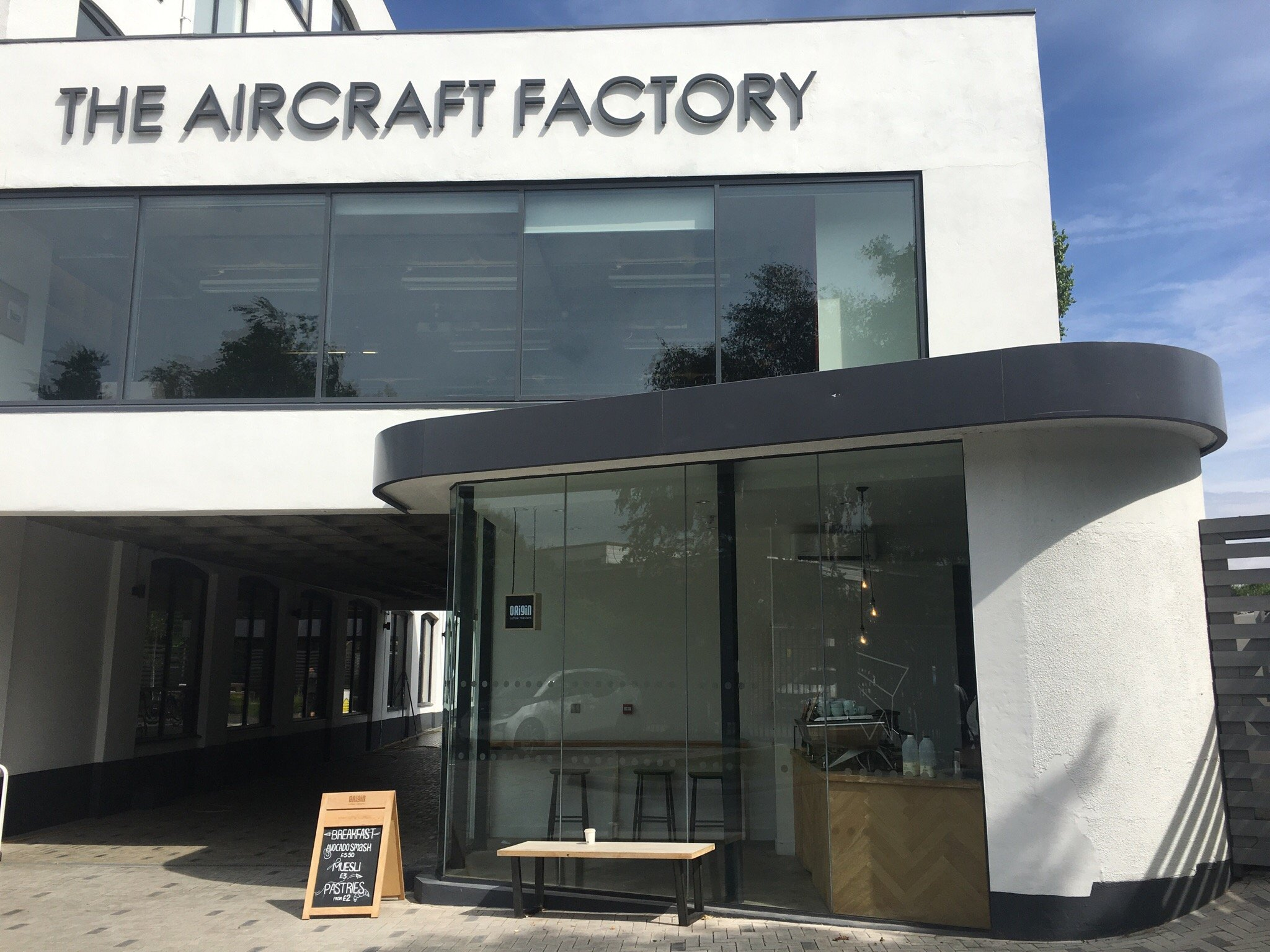 Entrace to ClearPeople at The Aircraft Factory